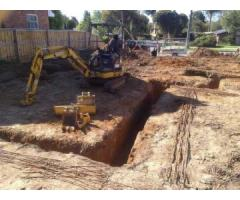 Excavation Melbourne | Mini Excavator Hire | Mini Excavations Frankston