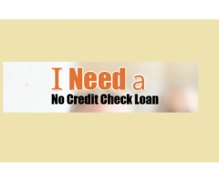 No Credit Check Loans- Get Fast Approval For A Loan With Bad Credit